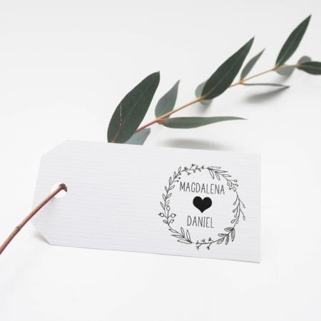 Hochzeitslogo Stempel - Stempeldreams