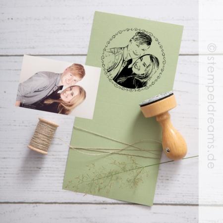 Fotostempel mit Ihrem Foto - Stempeldreams.de